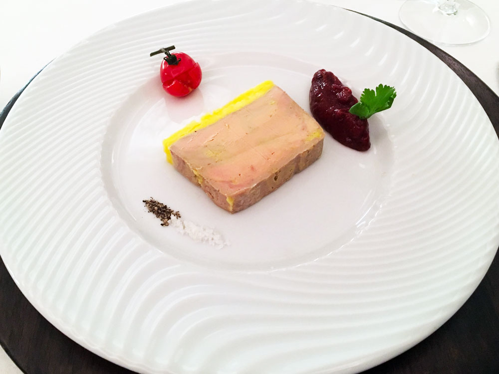 foie gras Restaurant Chandouineau